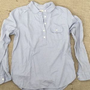 Jcrew chambray Top small